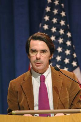 Aznar en el Operación Triunfo Polaco