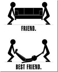 Diferencias entre amigos y mejores amigos